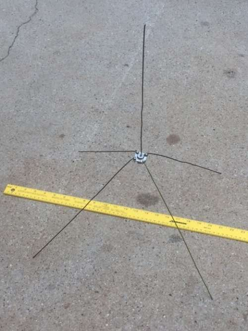 The Weekly North Texas YL net - Ground-plane antenna project